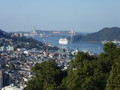 風頭公園から長崎の街