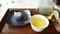山種美術館ミュージアムカフェ「椿」の企画和菓子「まさり草」