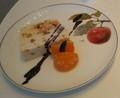 ホキ美術館ミュージアムカフェのアイスケーキ