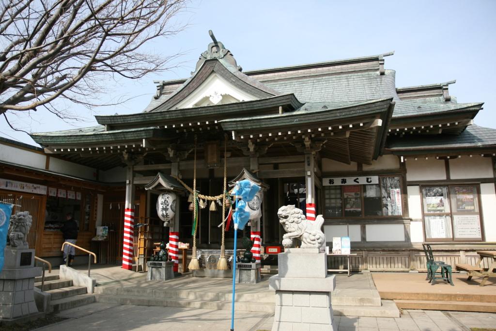 青森・蕪島神社