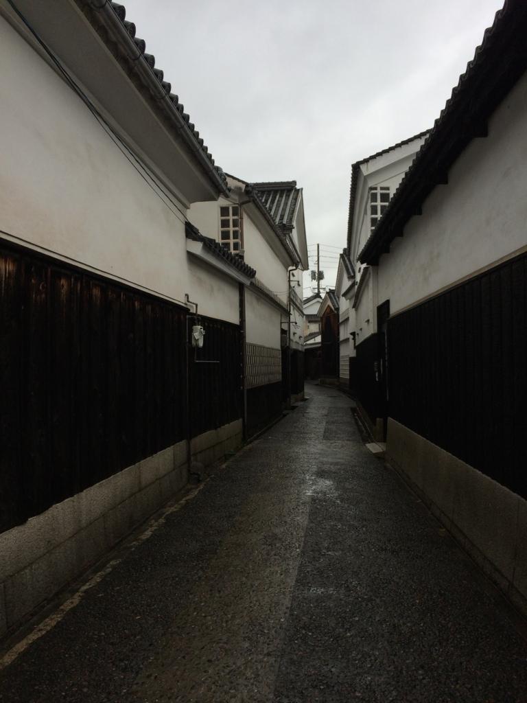 岡山・美観地区の街並み