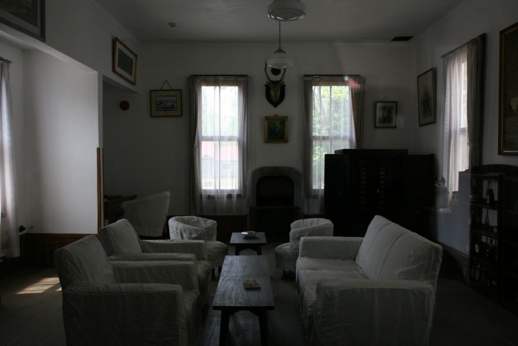 ニッカウヰスキー北海道工場・余市蒸溜所の旧事務所の室内