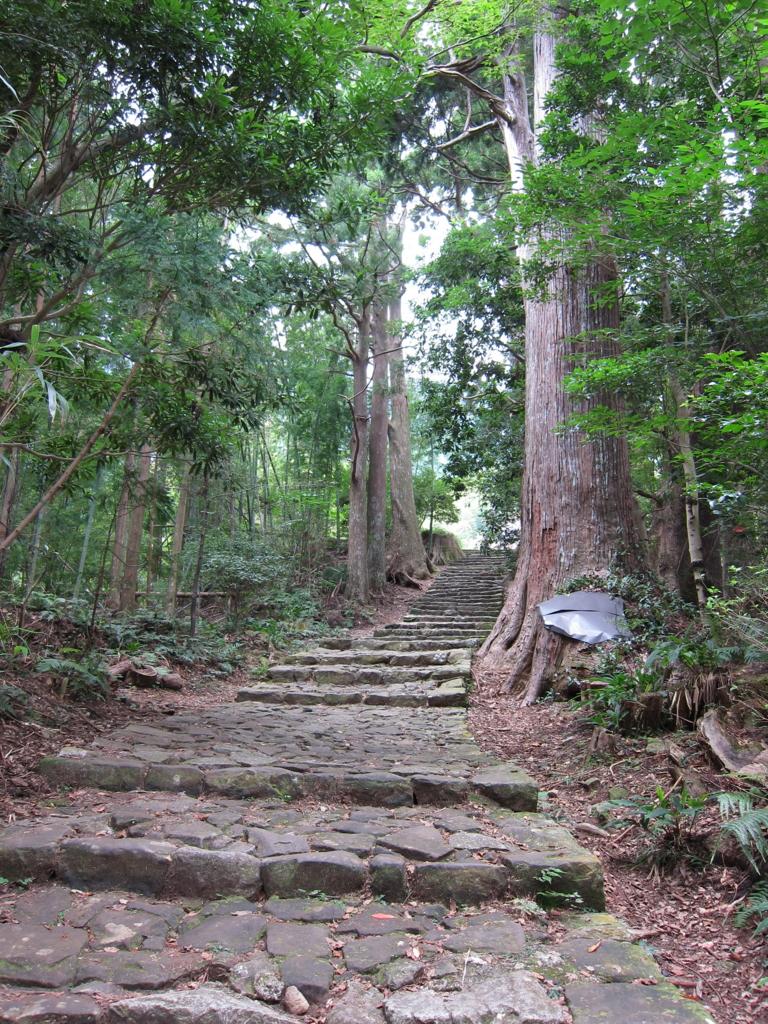 熊野古道の大門坂