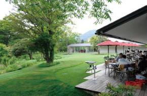 箱根のラリック美術館のレストラン
