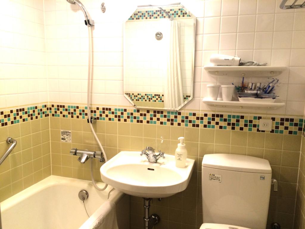 ホテルモントレ仙台のバスルーム