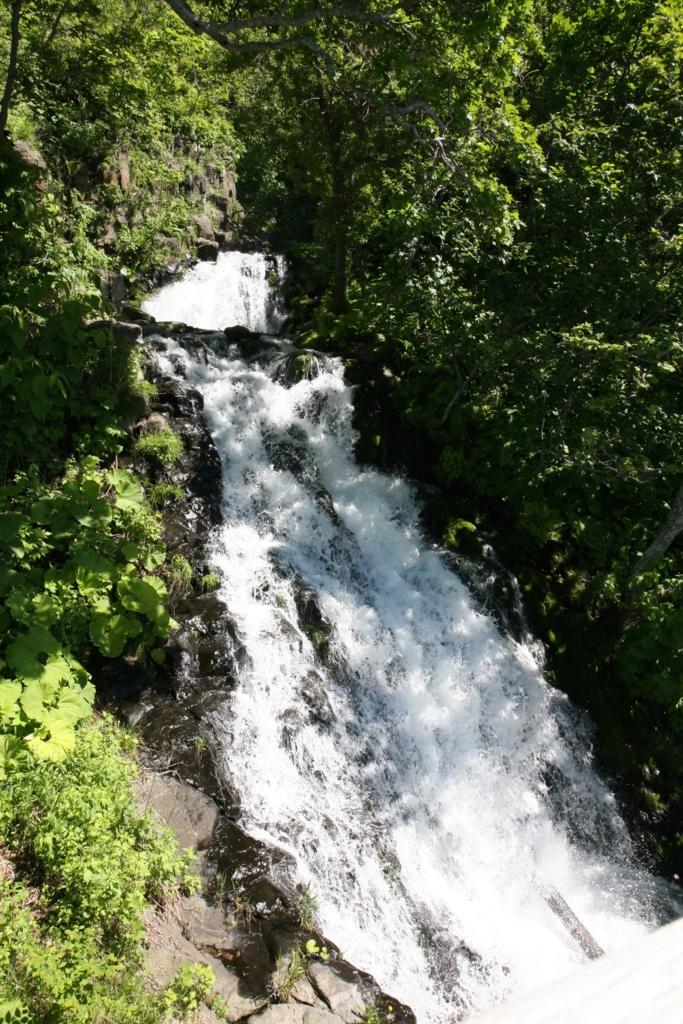 北海道・知床の三段の滝