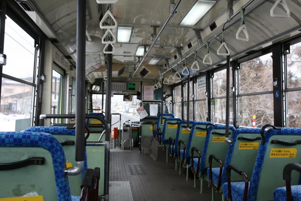 青森・十和田湖行きのバス