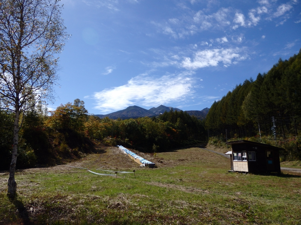 長野県・乗鞍高原の秋