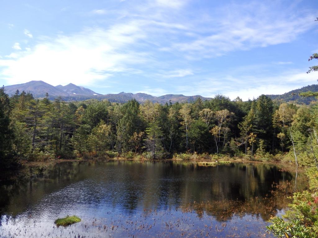 長野県・乗鞍高原の牛留池