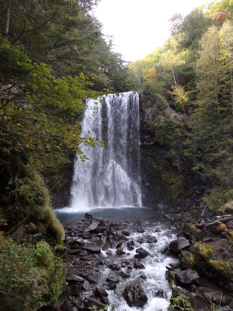 長野県・乗鞍高原の善五郎の滝