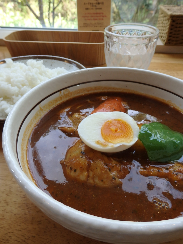 長野県安曇野・スープカレーのハンジロー