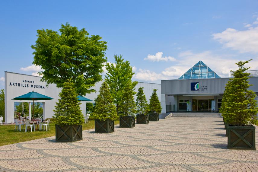 長野県・安曇野アートヒルズミュージアム