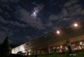 中秋の名月と文化会館