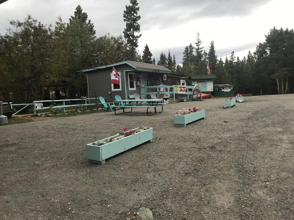 キャンプ場の事務所