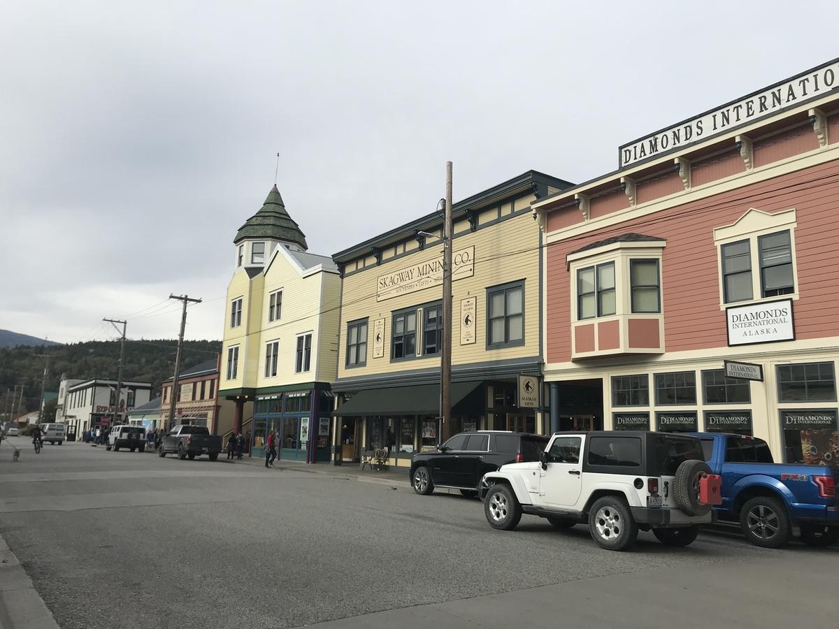 港町の街並み
