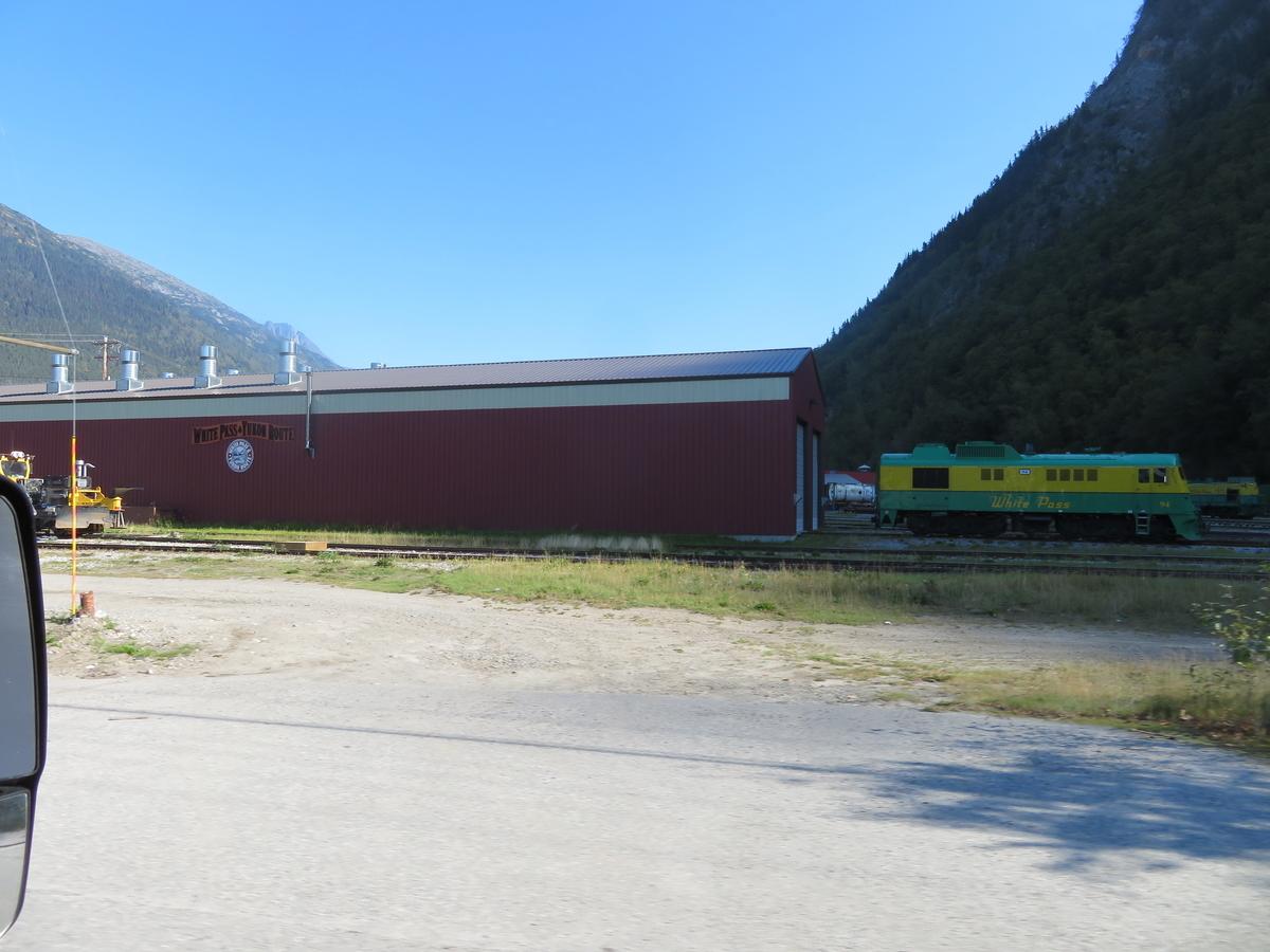 山岳鉄道の駅舎