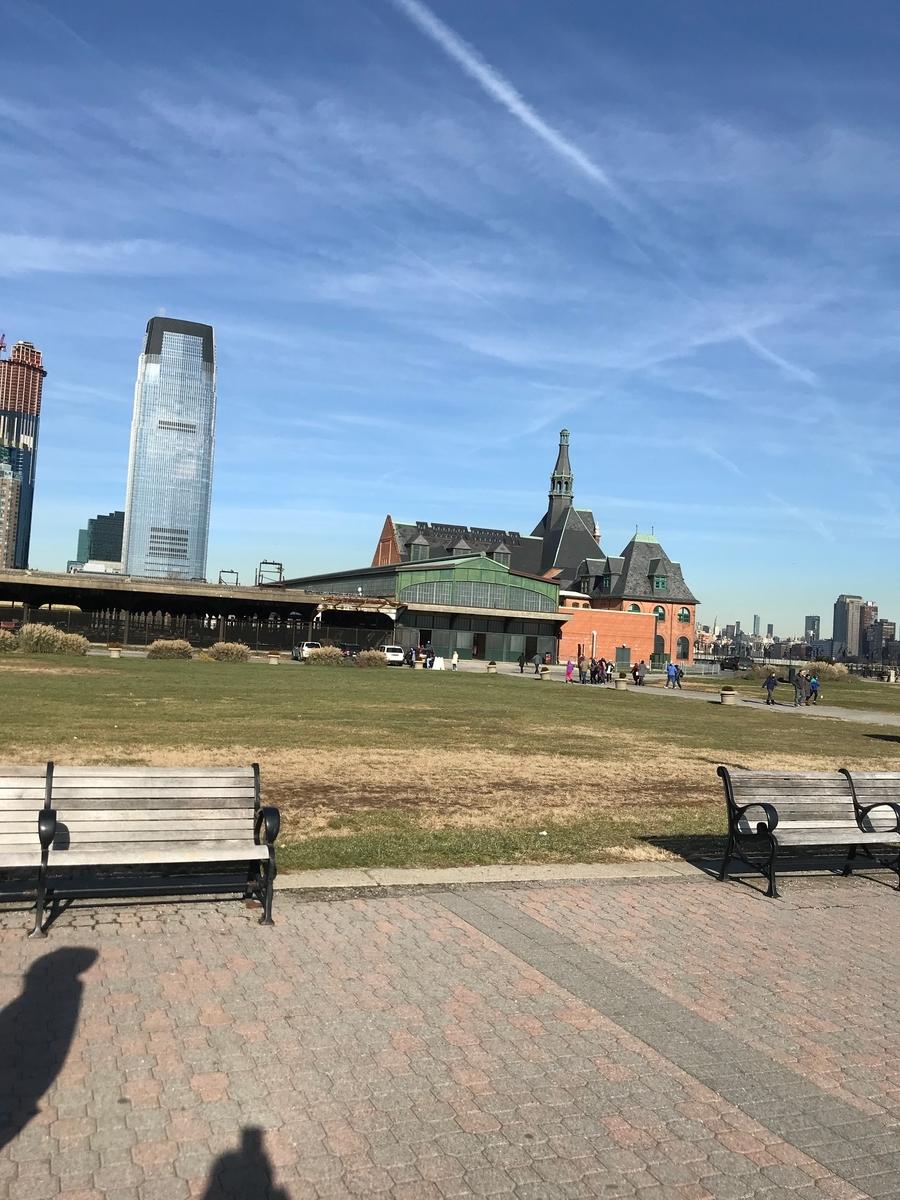 公園の歴史的建物