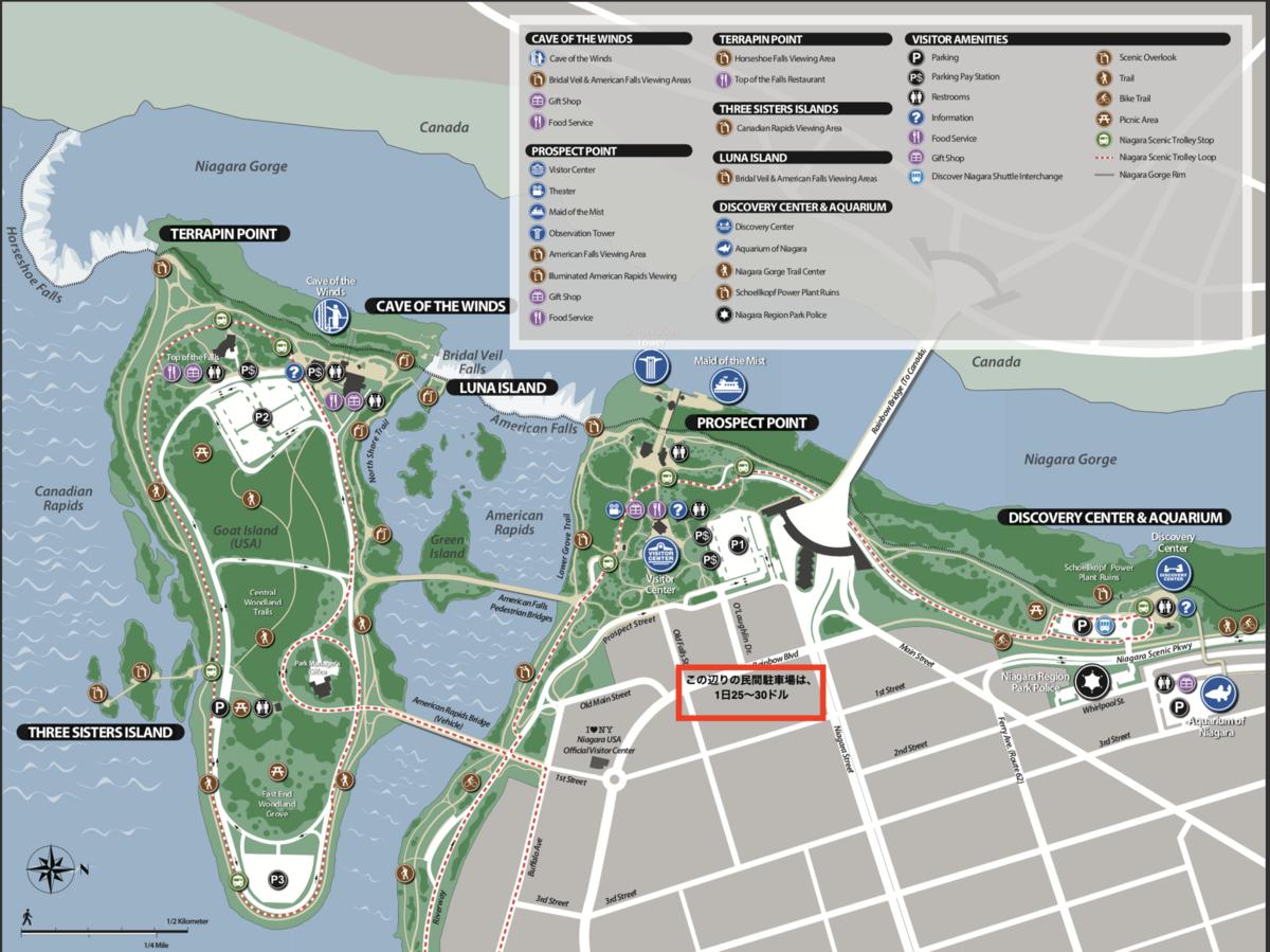 公園の地図