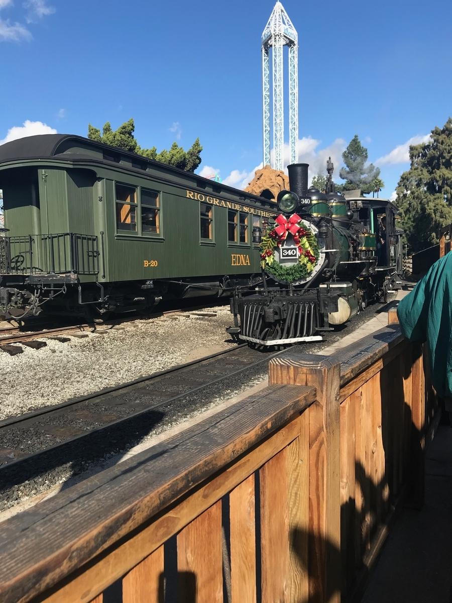 遊園地の汽車