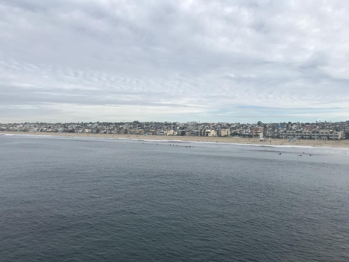 西海岸のビーチ