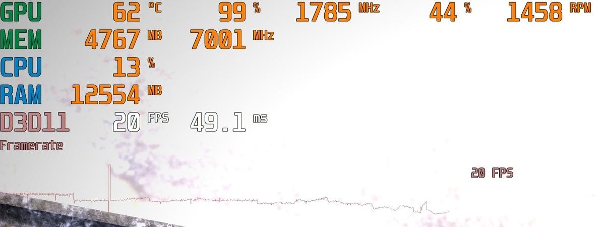 4K画質だと、ときどき極端に低下することはありながらもプレイはできる。