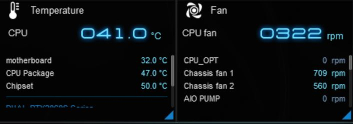 Blu-rayを10分くらい再生した時点の数値。