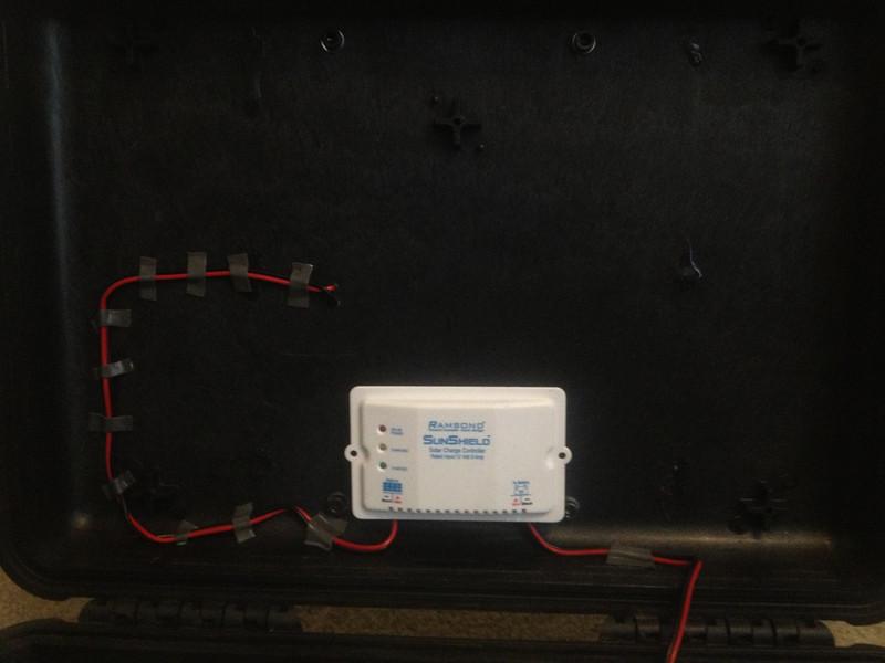 ソーラーパネル取付 ケース 裏 箱 ボックス BOX バッテリー