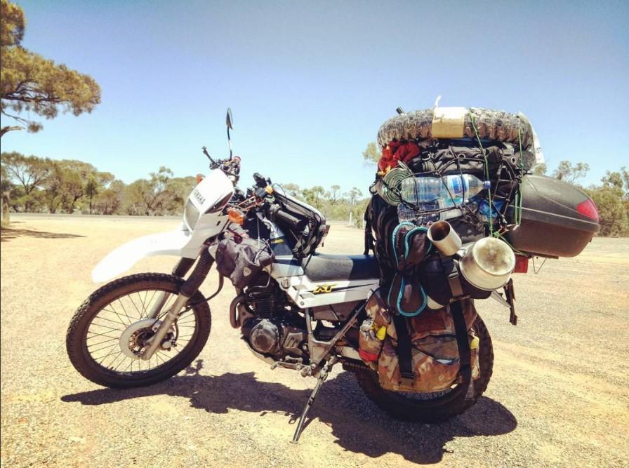 バイク 積載 すごい やり方