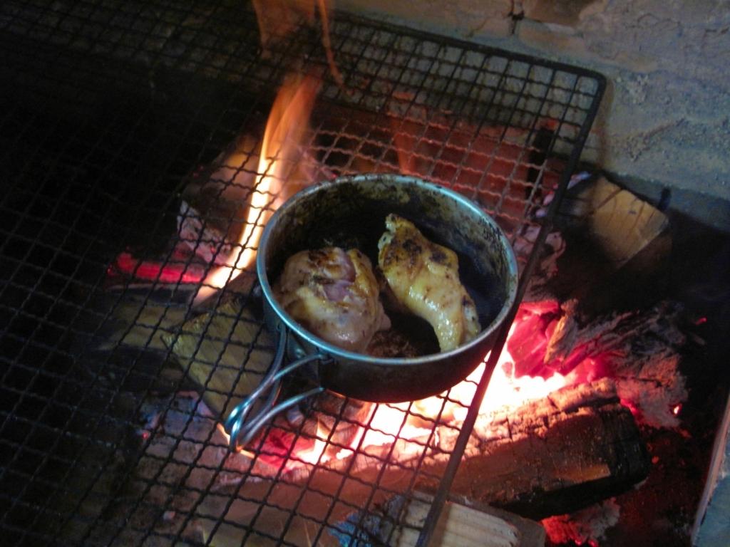 日本一周 野宿 焚き木