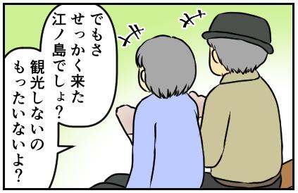 でもさせっかく来た江ノ島でしょ?観光しないのもったいないよ?