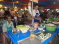 タイのマーケット夜店