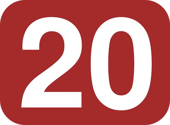 20という数字