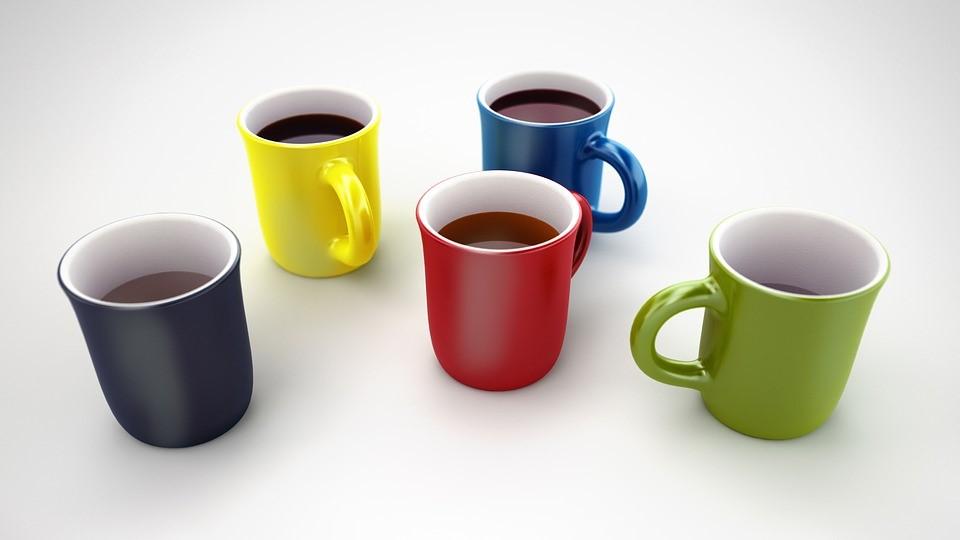 マグカップ、コーヒー、休憩