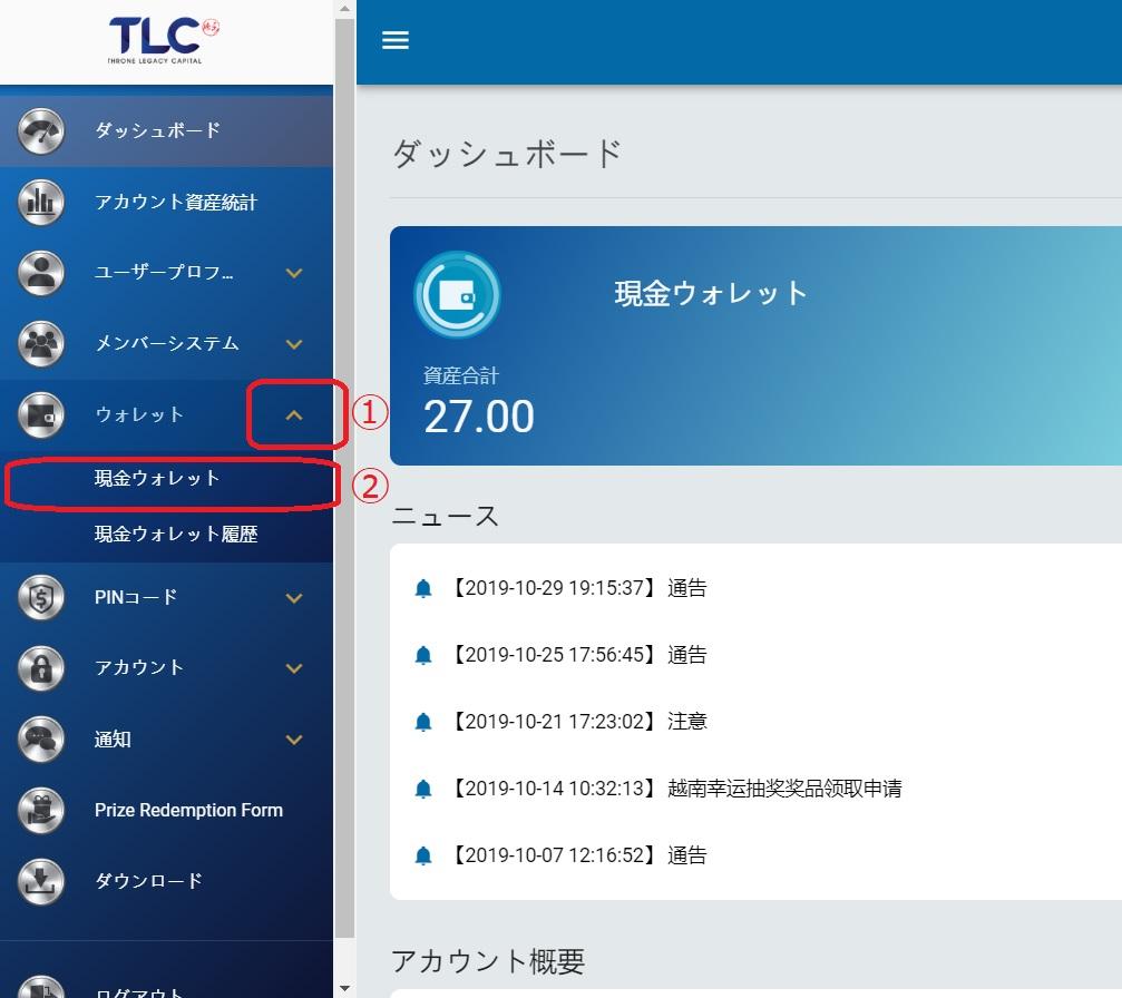 IBH銀行×TLC-入金ウォレット編-