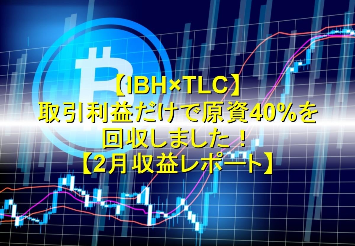 IBH銀行×TLC 2月収益レポート
