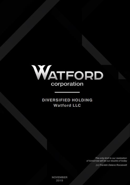 Watford Corpotation white paper