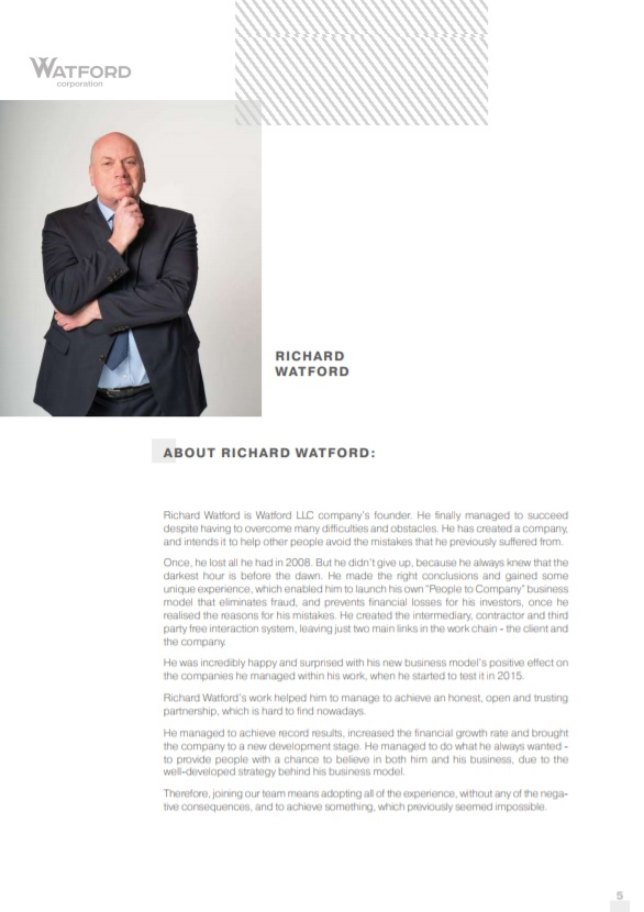 ABOUT RICHARD WATFORD