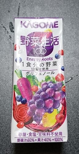 カゴメ 野菜生活100エナジールーツ