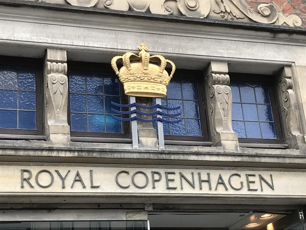 ロイヤルコペンハーゲン本店