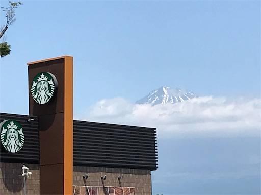 富士川SAからの富士