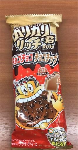 ガリガリ君リッチ チョコチョコチョコチップ