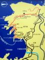 子浦 日和山遊歩道 地図