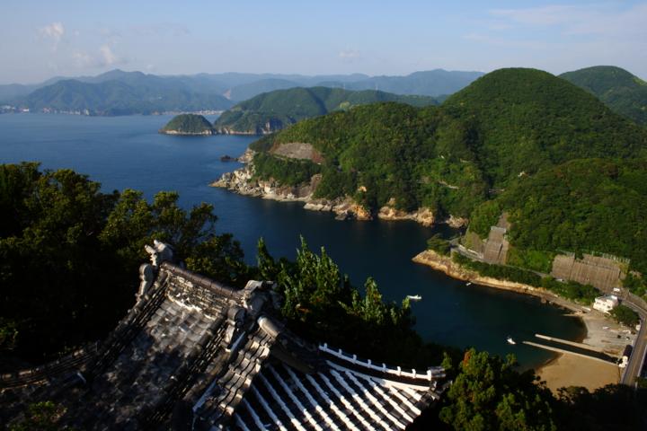 雲見浅間神社 烏帽子山 展望台からの眺め