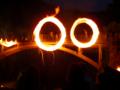 群馬県南牧村 大日向地区の火祭り「火とぼし」