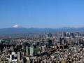 @天望デッキ 富士山