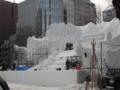 雪祭り 製作現場