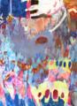 [綿布][アクリル][水彩色鉛筆][パステル][M150号] ピロウのじごく