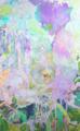 [パネル][油彩][アクリル][水彩色鉛筆][パステル][135cm×190cm] キュクロプスの花束