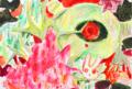 [キャンバス][アクリル][水彩色鉛筆][30cm×40cmくらい] kyupu-papa