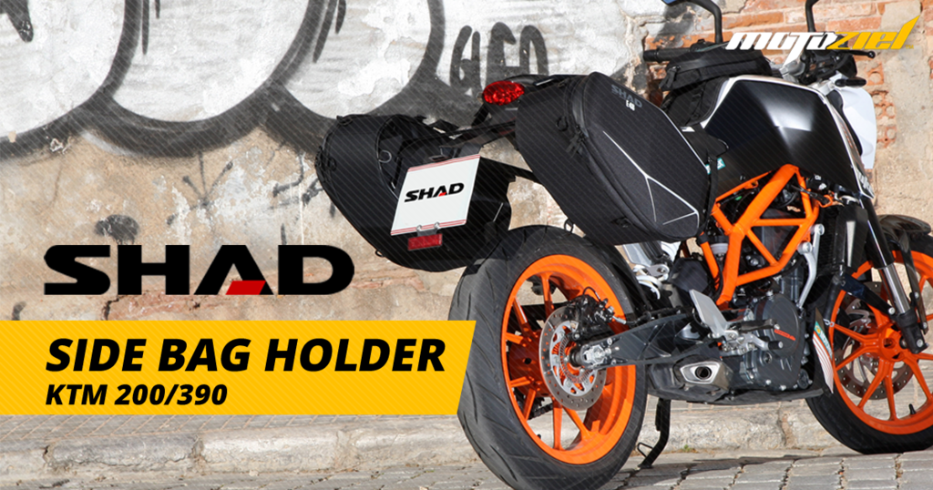 SHAD FITTING SIDE BAG HOLDER-KTM 200/390 (PAIR)